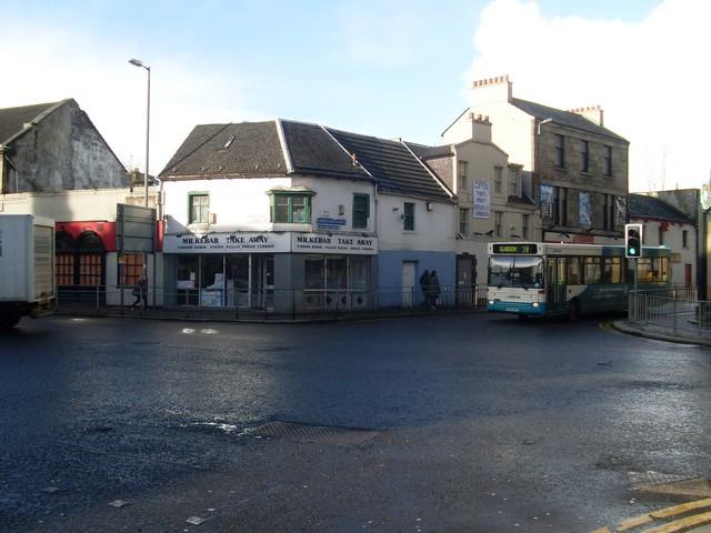 Kebab shop in Paisley