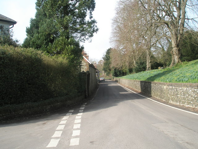 Looking westwards along The Hyde