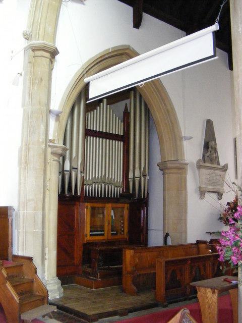 St.John the Baptist Church Organ