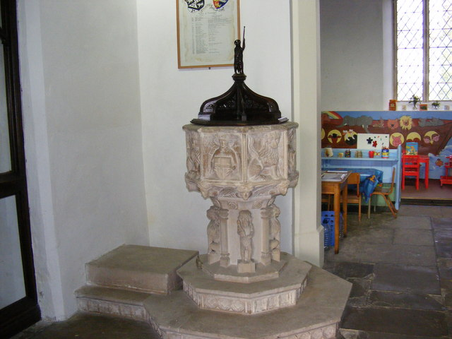 St.John the Baptist Church Font
