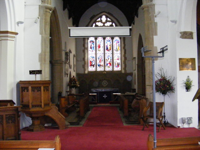 St.John the Baptist Church Altar