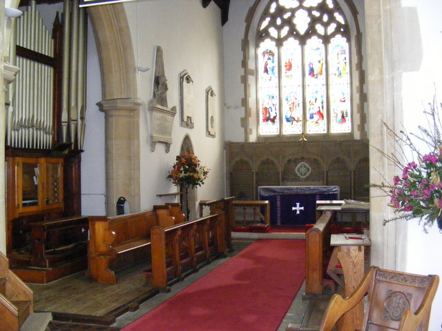 St.John the Baptist Church Altar & Organ