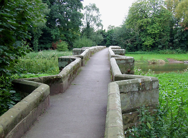 The Essex Bridge at Shugborough, Staffordshire