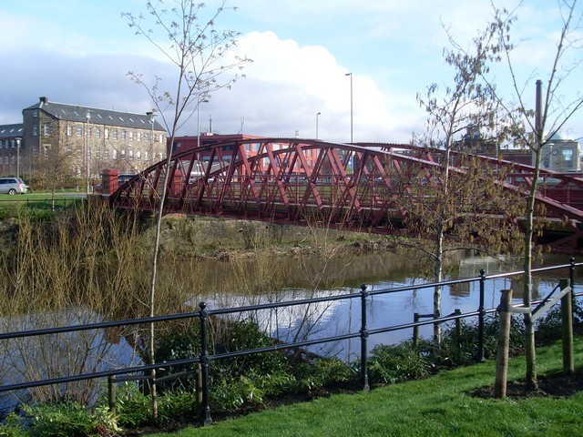 Seedhill footbridge