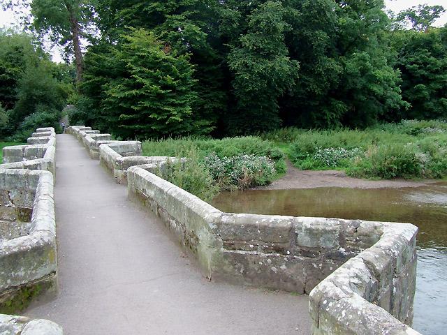 The Essex Bridge at Shugborough, Staffordshire