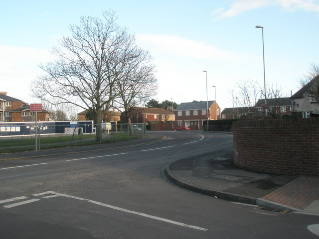 Junction of Bransbury and Eastney Farm Roads