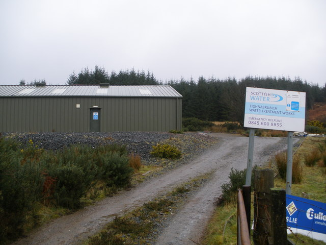 Scottish Water Treatment Station