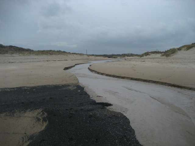 Water Outlet on Druridge Bay