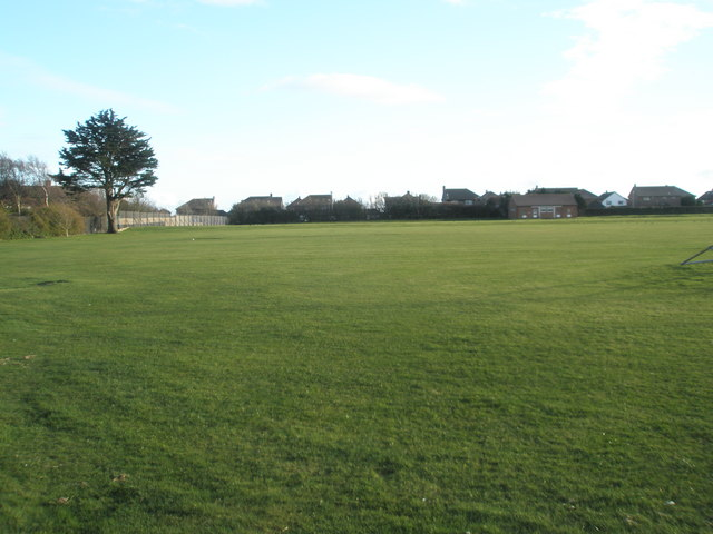 Sportsfield just off Halliday Crescent