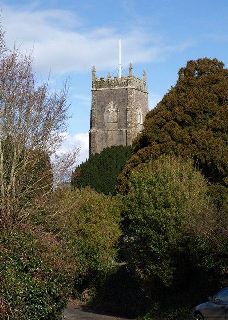 Tower of St Stephen's Church, Saltash
