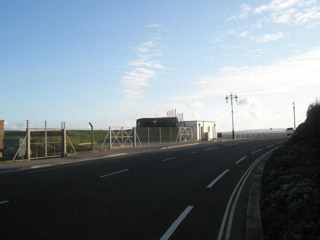 Road bends at Eastney Esplanade
