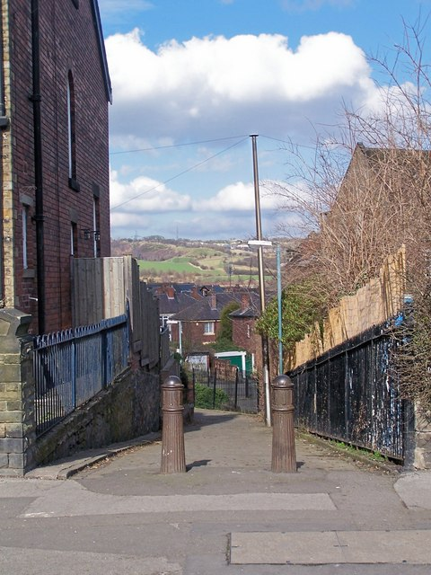 Footpath from Wadsley Lane to Carlton Road - Part 1, Sheffield