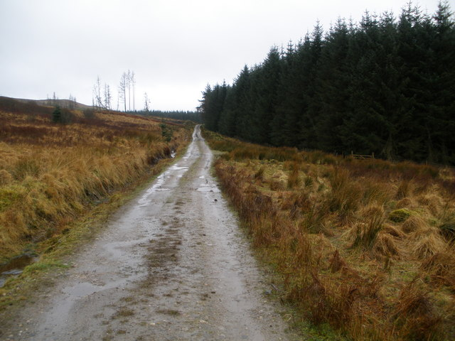 Track to Strone Farm
