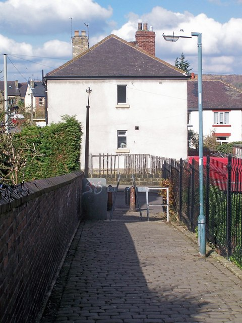 Footpath From Wadsley Lane to Carlton Road - Part 2, Sheffield