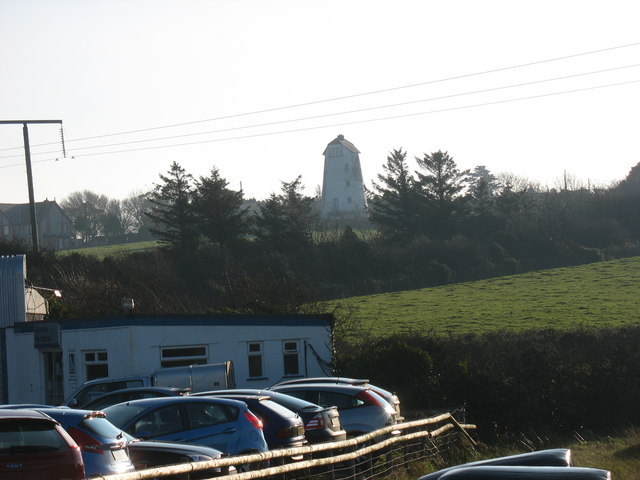 Melin Cemaes Mill from Brookfield Garage