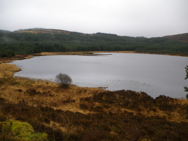 Reservoir in Archarossan forest