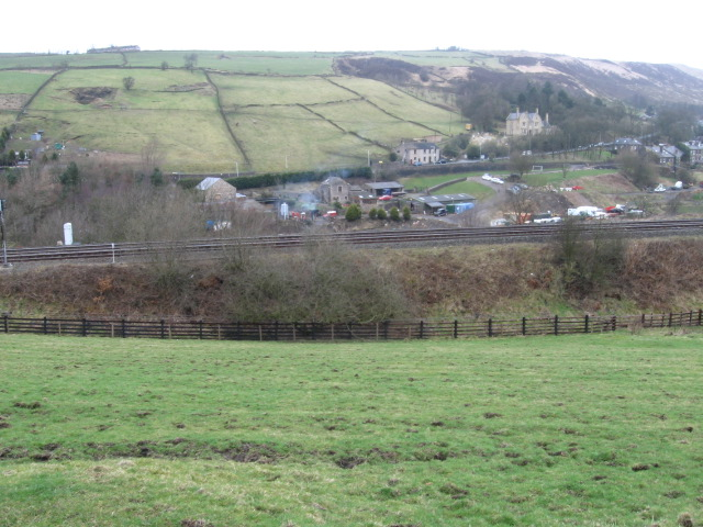 Across the Tame Valley near Uppermill