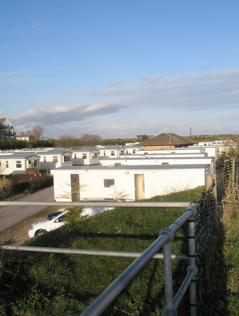 Mobile Home Park between Melville Road and Eastney Beach