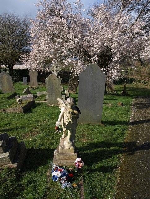 Sculpture, Cemetery, St Stephens