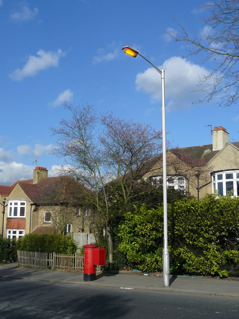 Street Light at Shirley, Croydon