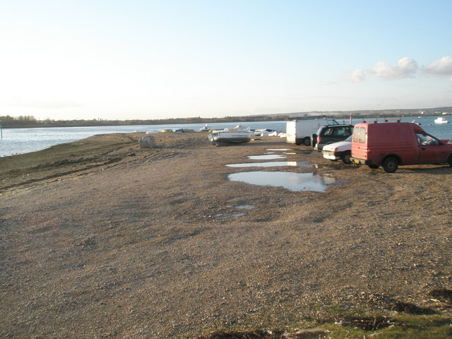 Spur to west of the Hayling Ferry jetty