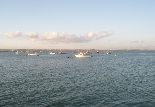 Boats in Langstone Harbour