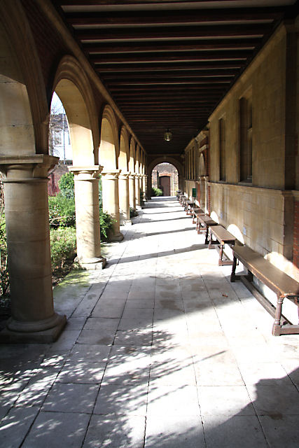 Cloisters at Sidney Sussex College