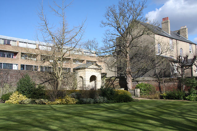 Grounds of Sidney Sussex College