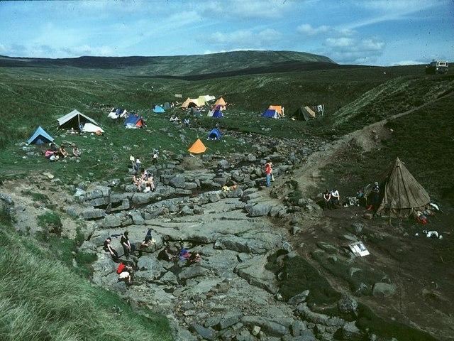 Gaping Gill winch meet 1975