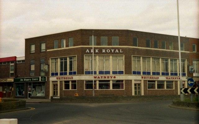 Pubs of Gosport - Ark Royal (1987)