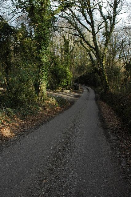 Road near Filleigh
