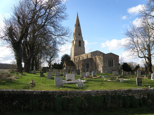 St Swithins Church at Old Weston