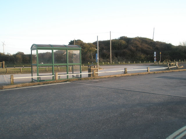 Bus shelter in Ferry Road
