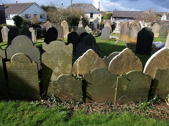 Gravestones, St Stephen's Church, Saltash