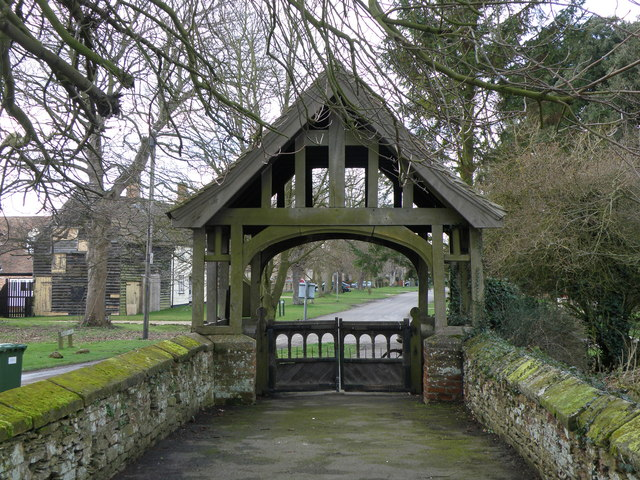 Lych Gate Leighton Bromswold