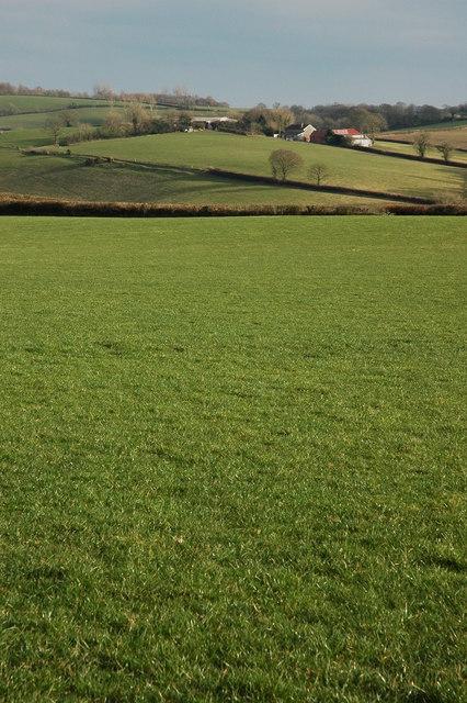 Farmland in the Dalch Valley