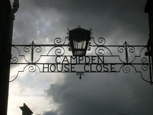 Entrance to Campden House Close W8