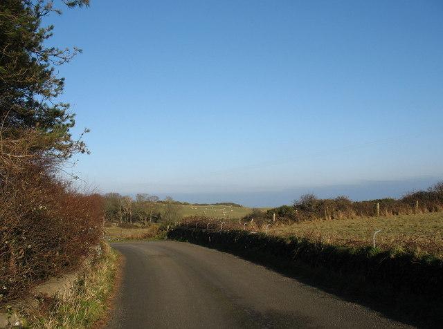 The Wylfa Head road