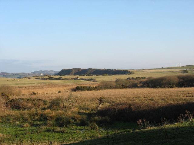 Marshland south of Mynydd y Wylfa