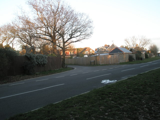 Junction of Ferry Road and Sinah Lane