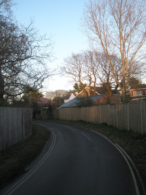 Bend in Sinah Lane