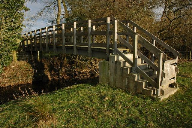 Footbridge over the River Dalch