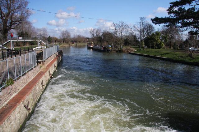 River Cam at Baits Bite Lock