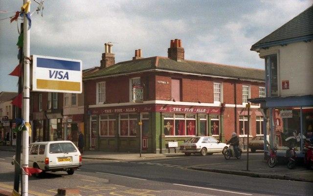 Pubs of Gosport - The Five Alls (1987)