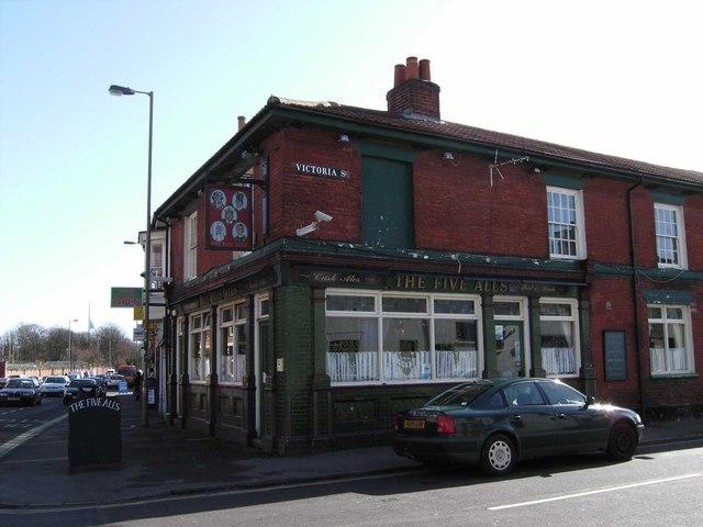 Pubs of Gosport - The Five Alls (2009)