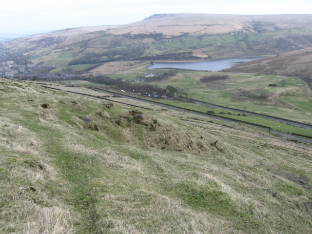 Pule Hill towards Butterly Reservoir