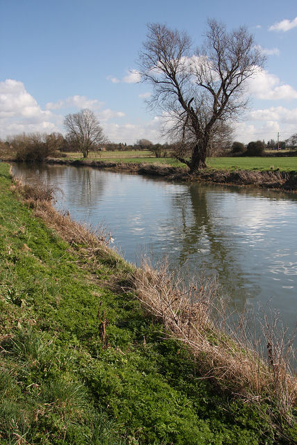 River Cam, downstream of Baits Bite Lock