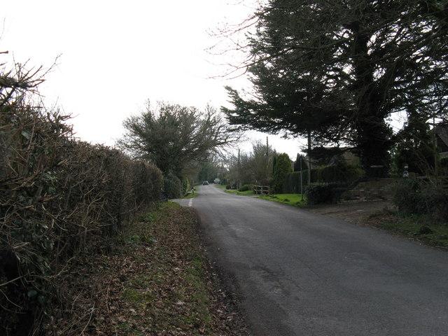 Road through North Heath