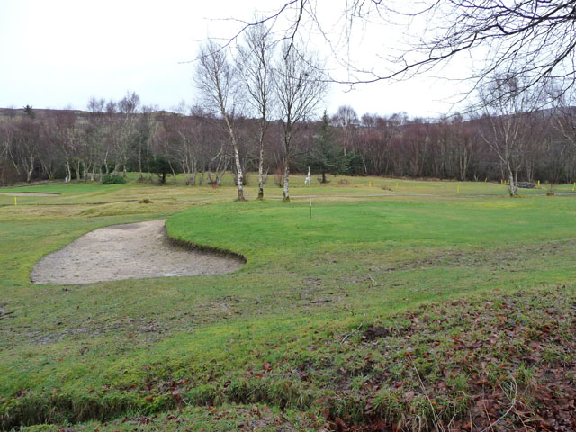 Golf course at Skeabost