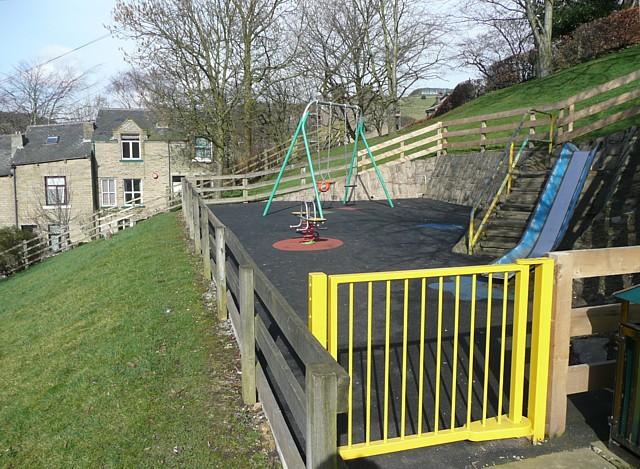 Playground, Marlborough Road, Hebden Bridge